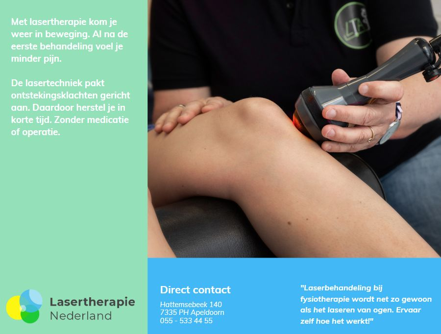 lasertherapie brochure