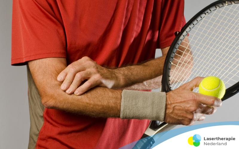 Tenniselleboog behandelen snel herstel met Lasertherapie