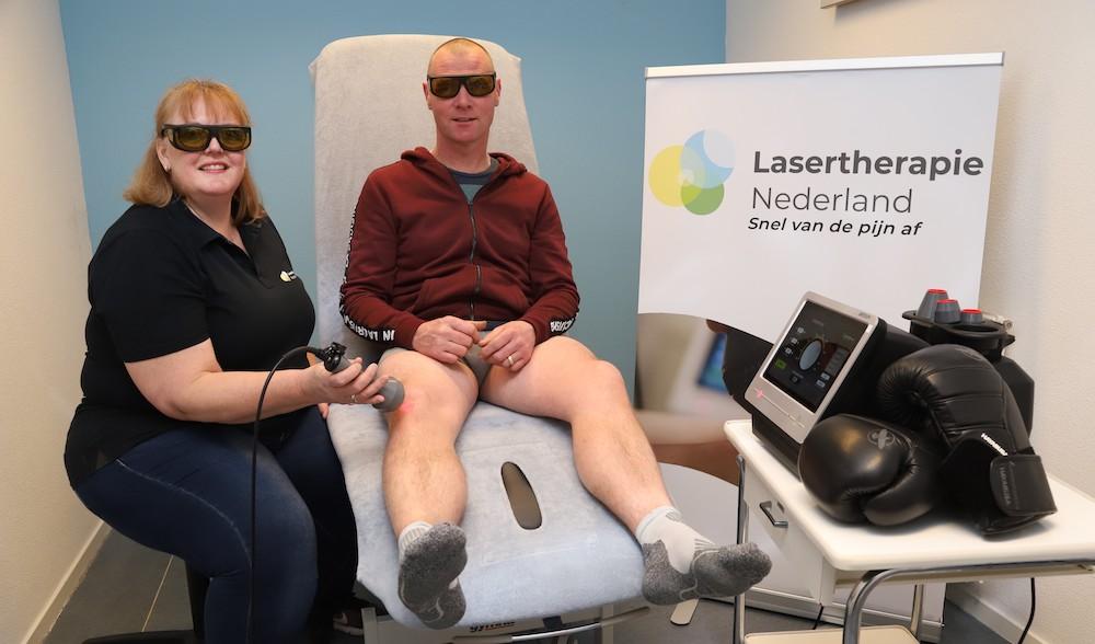pijnloos hardlopen dankzij lasertherapie
